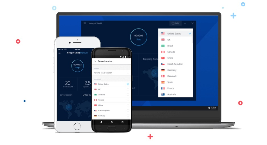 Hotspot Shield - gratis VPN